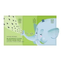 NATURE REPUBLIC Blackhead Clear 3 Step Nose Pack