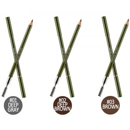 NATURE REPUBLIC BY FLOWER Wood Eye Brow - No. 2 Deep Brown