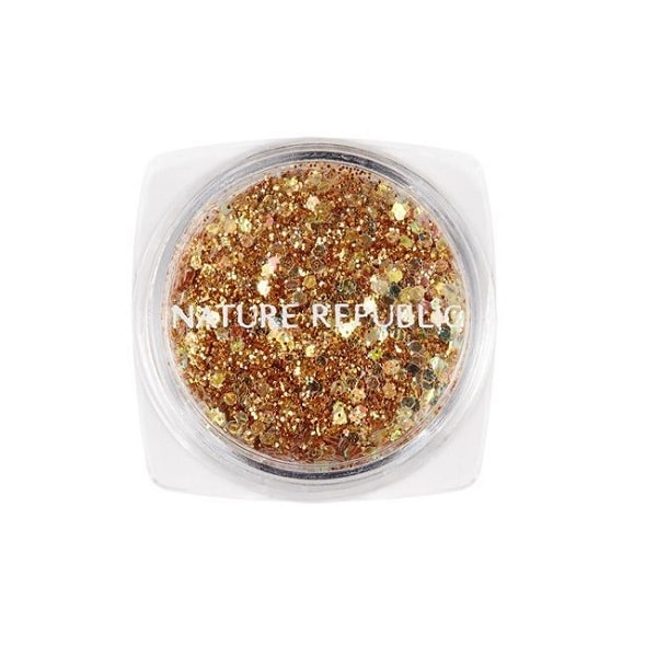 Nature Republic Color and Nature Real Glitter No. 1 Gold