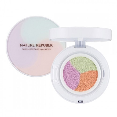Nature Republic Nature Origin Triple Color Tone Up Cushion