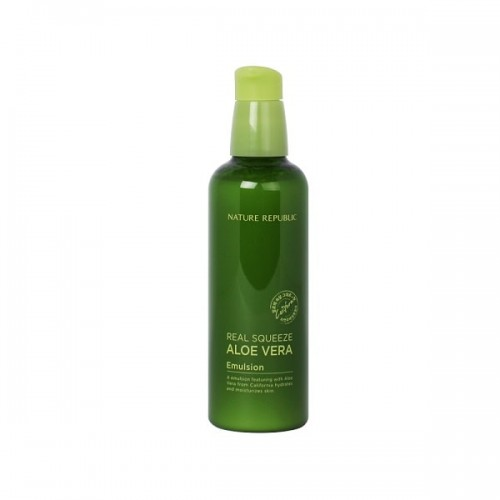 Nature Republic Real Squeeze Aloe Vera Emulsion 125ml