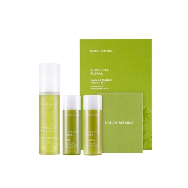 Nature Republic White Vita Floral Capsule Essence Special Set