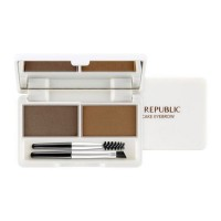NATURE REPUBLIC Botanical Cake Eyebrow [No.2 Mocha Brown & Brown] (5g)
