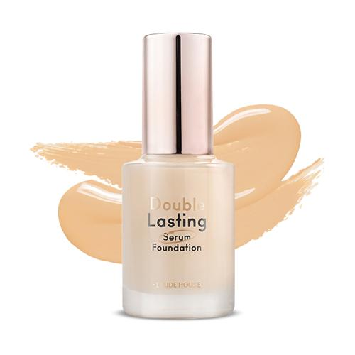ETUDE HOUSE Double Lasting Serum Foundation [P02 Rosy Pure]