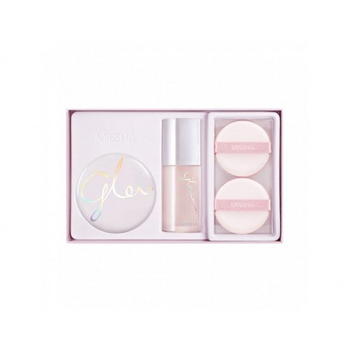 MISSHA Cover Glow Cushion Set 3items N21 Vanilla
