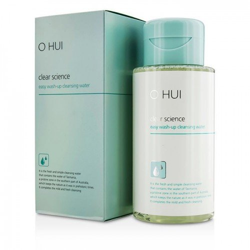 O HUI Clear Science Easy Wash Up Cleansing Water 300ml