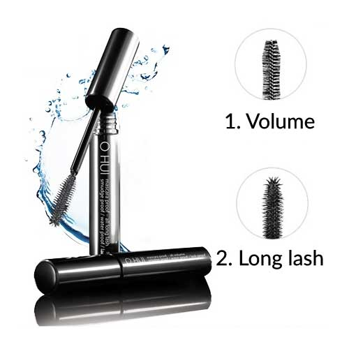 O HUI Mascara Proof-All Long Lash/Volumn 8ml (2 Types)