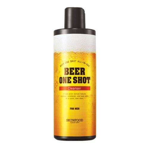 SKINFOOD Beer One Shot Cleanser for Men - 400ml