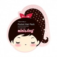 Tony Moly Mini Bling Pocket Hair Pack (4 Sheet)