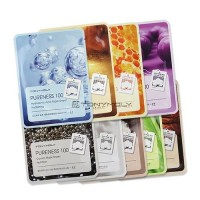 Tony Moly Pureness 100 Mask - 5 Sheet [9 Types] (21ml*5)
