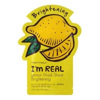Tony Moly I'm Real Lemon Mask Sheet (5 Sheets) [21ml*10]