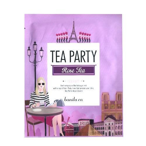 Banila Co. Tea Party Mask Sheet (Rose Tea) [27ml]