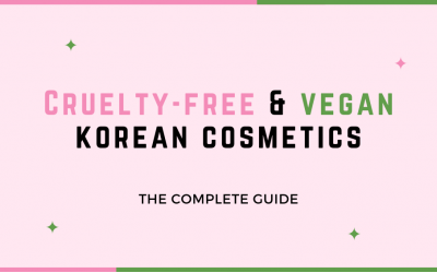 Complete Guide To Cruelty Free And Vegan Korean Cosmetics