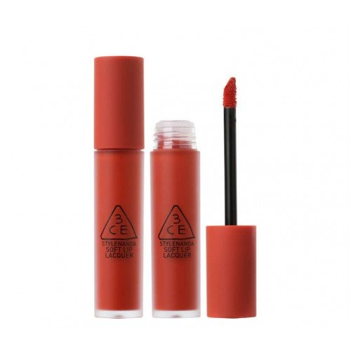 3CE Soft Lip Lacquer [#Ordinary Red]