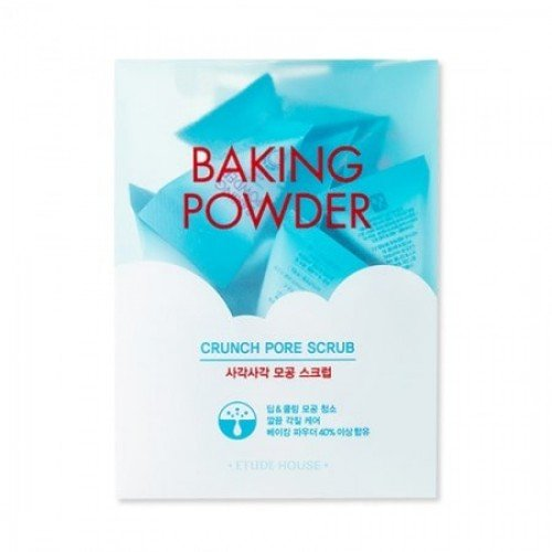 Etude House Baking Powder Crunch Pore Scrub NEW 7gx24
