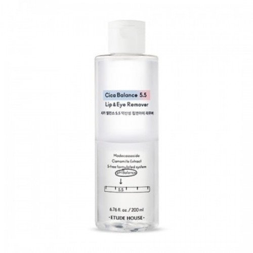 Etude House Cica Balance 5.5 Lip & Eye Remover 200ml
