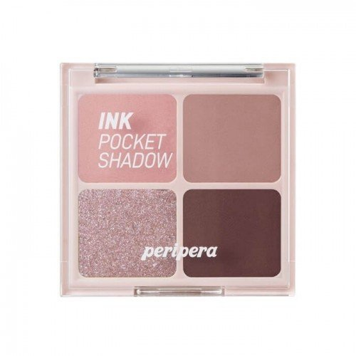 Peripera Ink Pocket Shadow Palette [#4 Dipping Rose Moment]