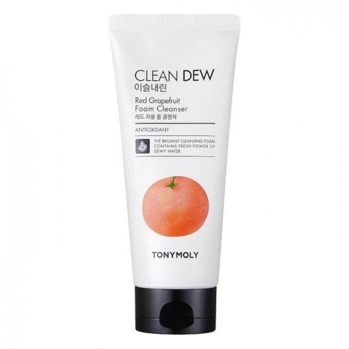 Tony Moly Clean Dew Foam Cleanser [Red Grapefruit]