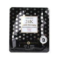 Etude House 24K Gold Therapy Black Pearl Mask [Brightening] - 32g