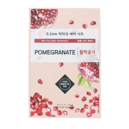 ETUDE HOUSE 0.2 Therapy Air Mask [5 Sheets] - Pomegranate