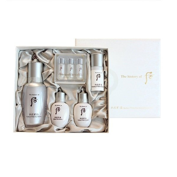 The History of Whoo Gongjinhyang Seol Radiant White Eye Serum Special Set