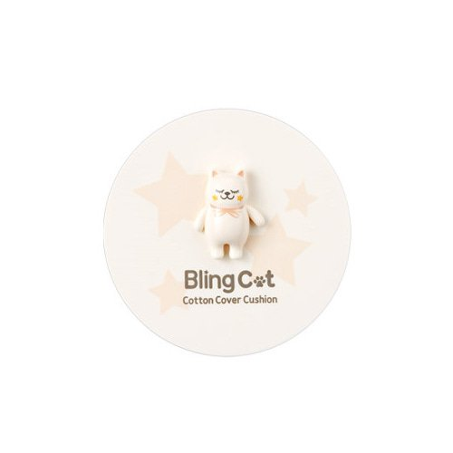 TONY MOLY BLING CAT Cotton Cover Cushion (SPF50+ PA+++) - 03 Warm Beige