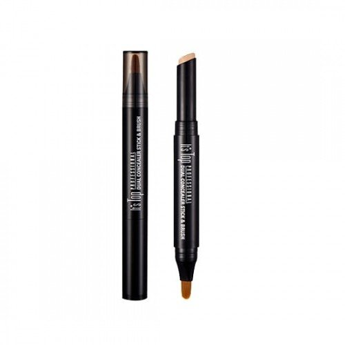 It'S Skin It's Top Professional Dual Concealer Stick & Brush - No.2 Natural Beige