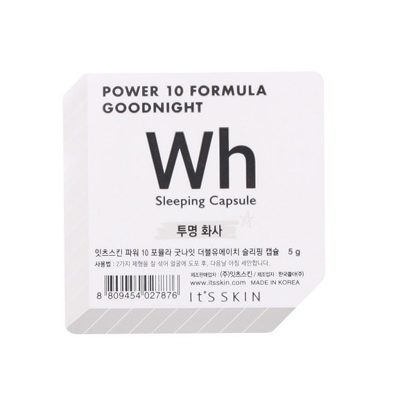 It's Skin Power 10 Formula Good Night Sleeping Capsule WH