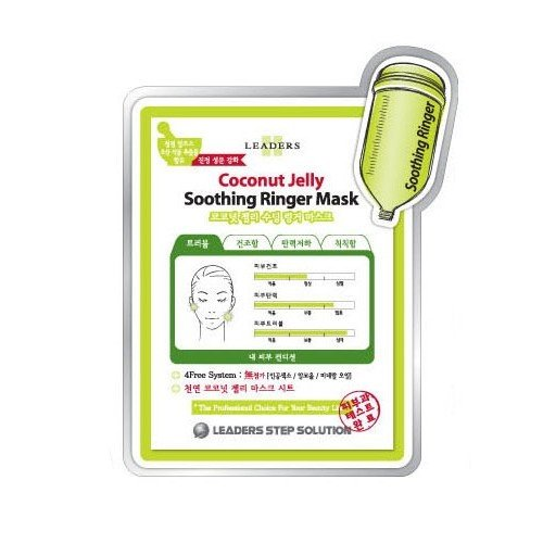 Leaders Clinic Coconut Jelly Soothing Ringer Mask (5EA) [25ml*5]