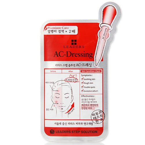 Leaders Clinic Step Solution AC-Dressing Mask (10 Sheets) [25ml*10]