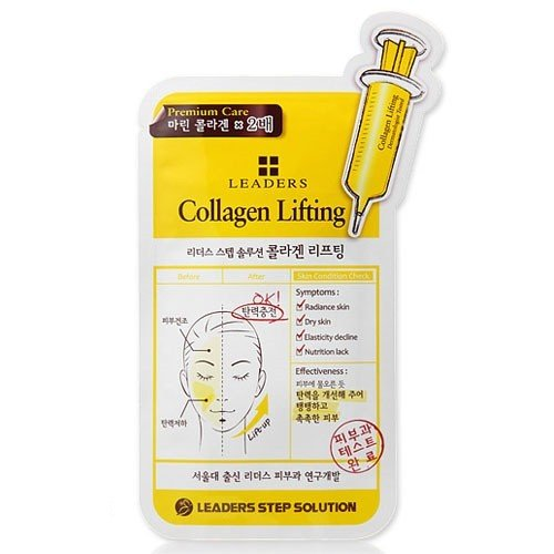 Leaders Clinic Step Solution Collagen Lifting Mask (10 Sheets) [25ml*10]