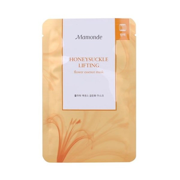 Mamonde Flower Essence Honey Suckle Mask [Lifting] 1PC