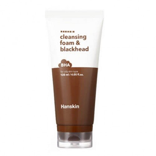 Hanskin BHA Blackhead & Cleansing Foam 120ml