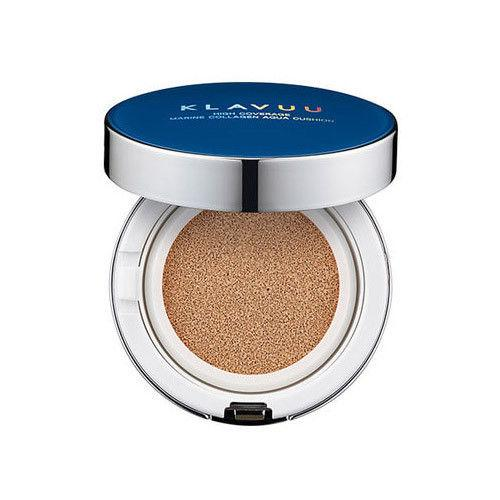 Klavuu Blue Pearlsation High Coverage Marine Collagen Aqua Cushion SPF50+ PA+++ 12g