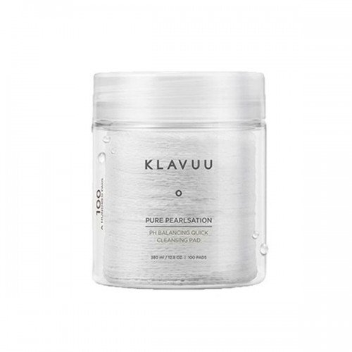 Klavuu Pure Pearlsation pH Balancing Quick Cleansing Pad [100 Sheets]