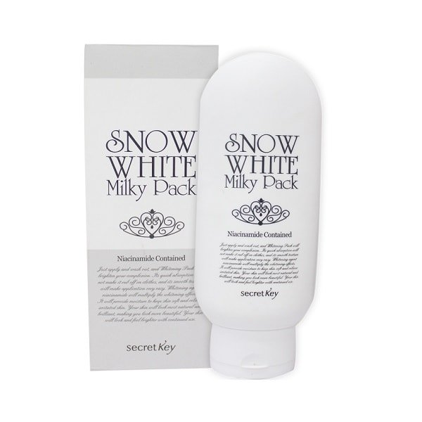 Secret Key Snow White Milky Pack 200ml