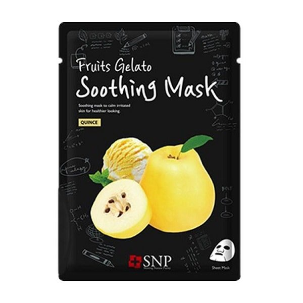 SNP Fruits Gelato Calm Mask Quince [10 PCs]