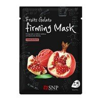 SNP Fruits Gelato Elastic Mask Pomegranate [10 PCs]