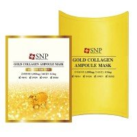 SNP Gold Collagen Ampoule Mask [10 PCs]