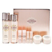 Etude House Age Defense Skin Care 4-in-1 Set (Softer + Essence + Emulsion + Cream)