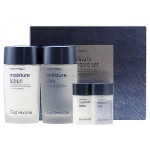Tony Moly - First Homme Moisture Skin Care Set (Skin + Lotion)
