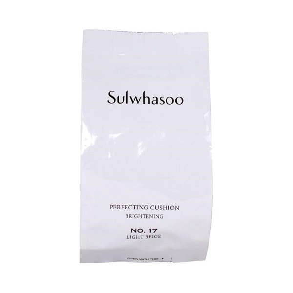 SULWHASOO Perfecting Cushion Brightening SPF50 PA+++ [17 Light Beige Refill]
