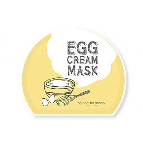 Too Cool For School Egg Cream Mask (5ea) [28ml*5]