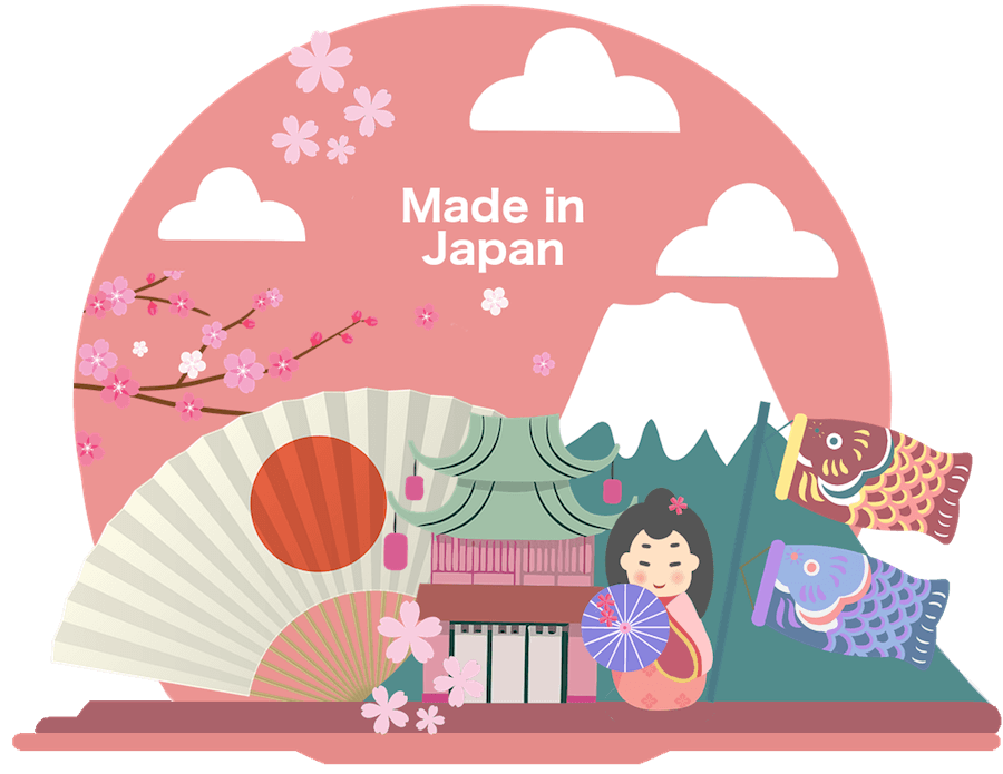 Japanese cosmetics made in Japan