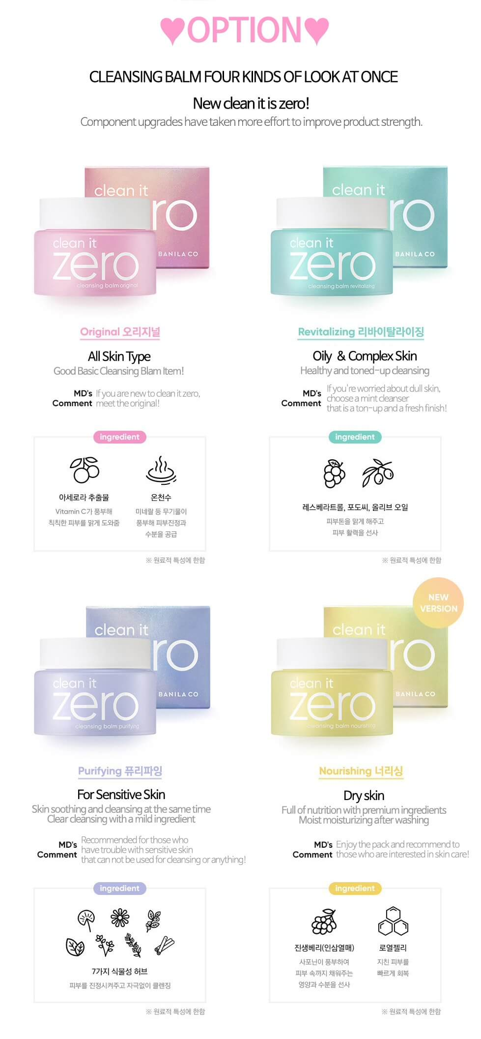 Banila Co. Clean it Zero Nourishing Balm [100ml]