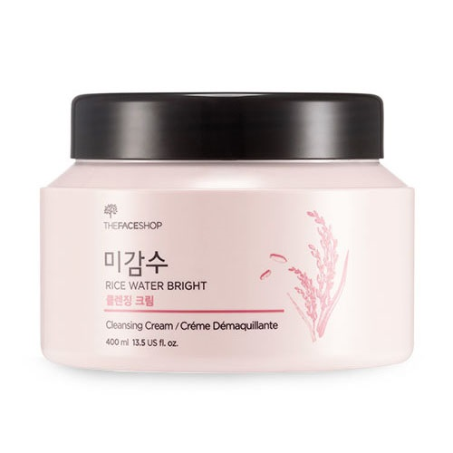 Peripera cushion lips - The Face Shop Rice Water Bright Cleansing Cream 400ml