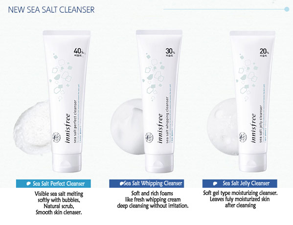 Innisfree Sea Salt Perfect Cleanser - 130ml