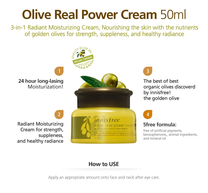 Innisfree Olive Real power Cream (50ml)