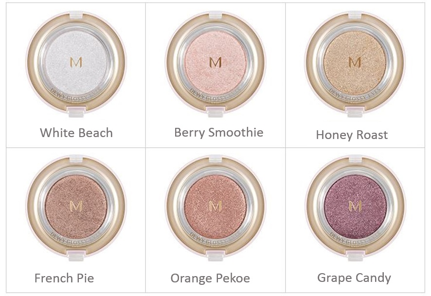 MISSHA M Dewy Glossy Eyes (6 Colors)