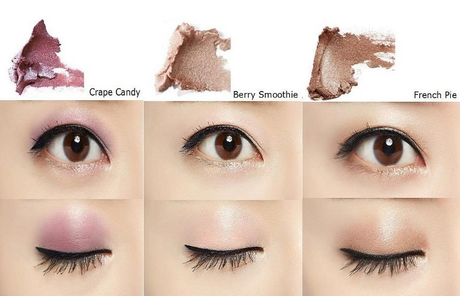 Korean cosmetics - MISSHA M Dewy Glossy Eyes (6 Colors)